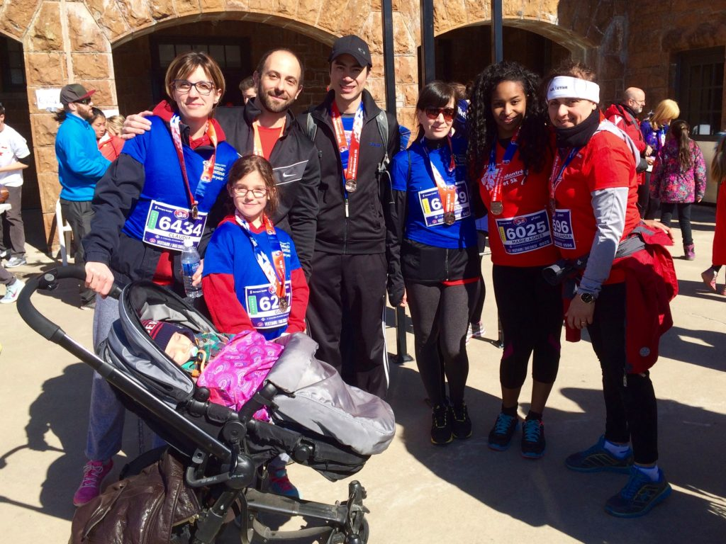 Our team after the race